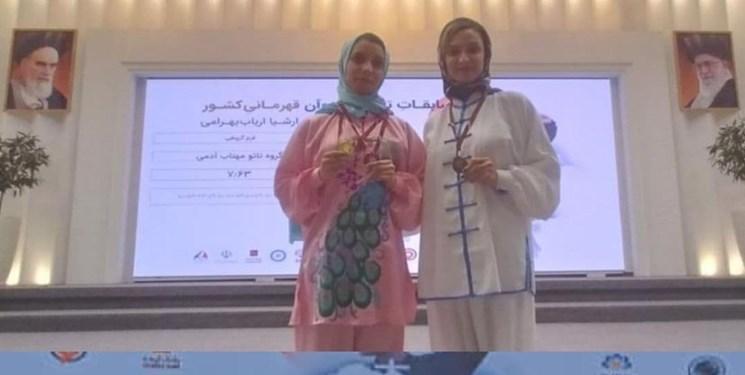 درخشش ووشوکاران آذربایجانشرقی در مسابقات قهرمانی کشور