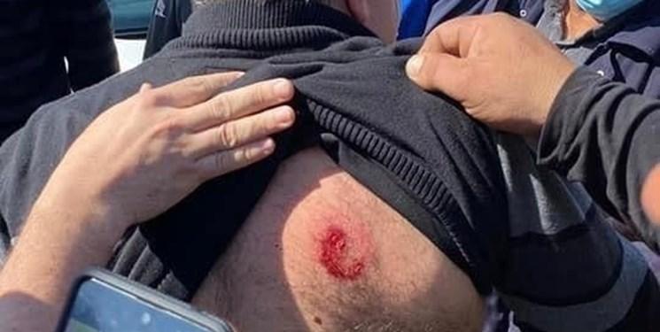 زخمی شدن عضو عرب کنست در حمله پلیس صهیونیستی به تظاهرات فلسطین اشغالی