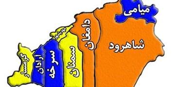 افزایش شهرهای با رنگبندی نارنجی در استان سمنان