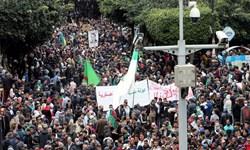 تجمع هزاران معترض در پایتخت الجزائر
