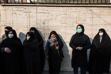 تشییع پیکرپاک دو شهید گمنام در محله یافت آباد