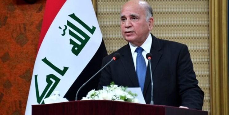 وزیر خارجه عراق: همچنان نیازمند آموزش آمریکا به نیروهای عراقی هستیم