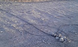 روایت محرومیت فارسمن  مشکلات اهالی جونآباد سیستانوبلوچستان؛ کابلهای تلفن ثابت را دریابید