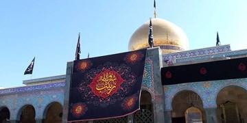 زینبیه دمشق در روز وفات حضرت زینب(س)+ عکس و فیلم