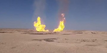 انفجار خط لوله گاز در شمال شرق سوریه