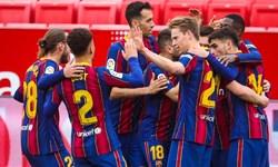 هفته بیست و ششم لالیگا  بارسلونا با برد اوساسونا به صدر نزدیک شد