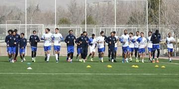 گزارش تمرین استقلال| شوتزنی به سمت دروازهها در روز غیبت شجاعیان و حضور بازیکن جدید