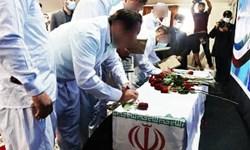 برگزاری آیین نذر هشتم در زندان نوشهر مزین بهنام و عطر حضور شهید گمنام