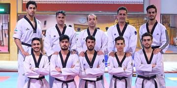 تیم ملی تکواندو مردان بر سکوی سومی تورنمنت صوفیه ایستاد