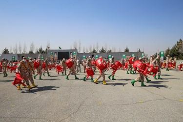 پایان مراسم اختتامیه سیزدهمین جشنواره جوان سرباز