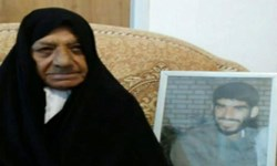 مادر سردار شهید «علی شفیعی» آسمانی شد