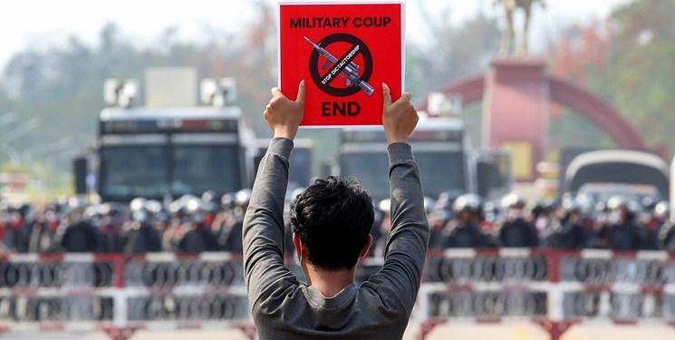 آمریکا تحریمهای بیشتری علیه ارتش میانمار اعمال میکند