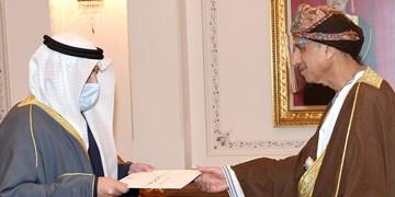 وزیر خارجه کویت در عمان، درباره تحولات منطقه رایزنی کرد