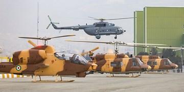 تحویل بالگرد و هواپیمای نظامی  به نیروهای مسلح