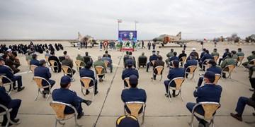 تجلیل از مقام خلبان شهید بیکمحمدی در  پایگاه نوژه