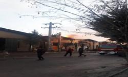 آتشسوزی در شهرک صنعتی زنجان 9 مصدوم بر جای گذاشت