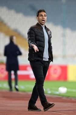ابراهیم صادقی سرمربی تیم فوتبال سایپا