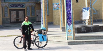 راه «روشن» برای روشن نگهداشتن یاد شهدا/ ادای احترام و آوردن پیغام پدر شهید از شیراز به بابل