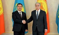 دیدار رؤسای جمهور قزاقستان و قرقیزستان در «نورسلطان»