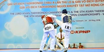 تاریخ رقابتهای قهرمانی تکواندوی آسیا مشخص شد