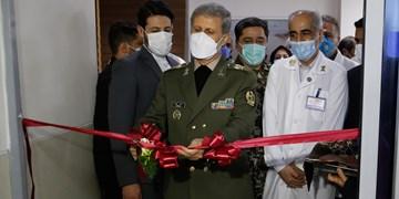 افتتاح مرکز درمانی ویژه بیماران کرونایی در بیمارستان شهید چمران وزارت دفاع