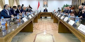 دیدار معاون علمی و فناوری رئیس جمهوری و وزیر تحقیقات و آموزش عالی سوریه
