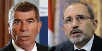 وزیر خارجه رژیم صهیونیستی با همتای اردنی خود دیدار کرد