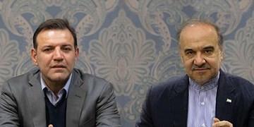 عزیزی خادم با وزیر ورزش و جوانان دیدار کرد