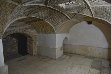 سردابه گنبد سلطانیه، در زیر زمین مجموعه