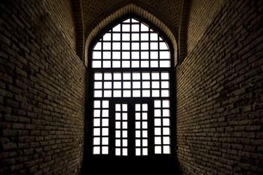 یکی از ورودی های گنبد سلطانیه