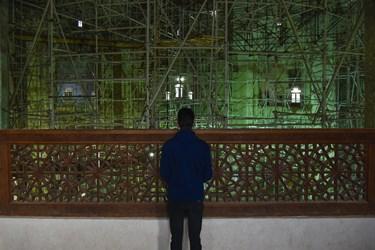 ایوان های اولین طبقه به سوی داخل گنبد سلطانیه
