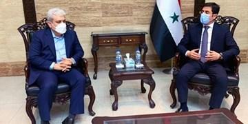 معاون علمی و فناوری رییس جمهوری و وزیر بهداشت سوریه دیدار کردند/ ستاری: صادرات فاکتور 7 را به سوریه آغاز کردیم