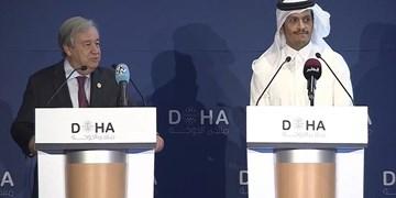 گوترش و وزیر خارجه قطر درباره احیای برجام گفتوگو کردند