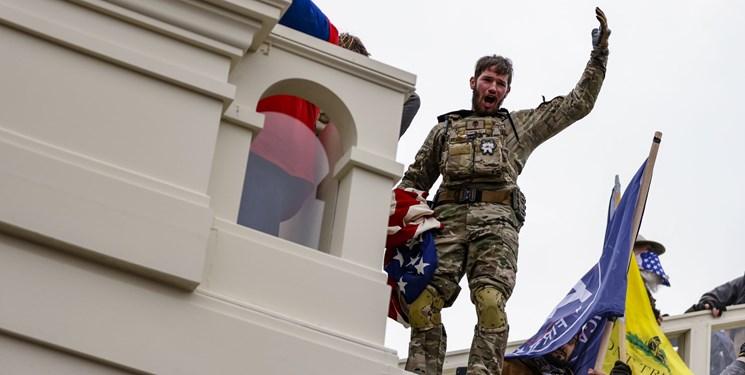 هشدار پنتاگون درباره خطر افراطگرایان داخلی برای ارتش آمریکا