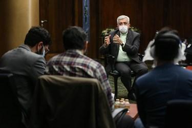 گفت و گوی اختصاصی  رضا اردکانیان وزیر نیرو با خبرنگاران گروه اقتصادی خبرگزاری فارس