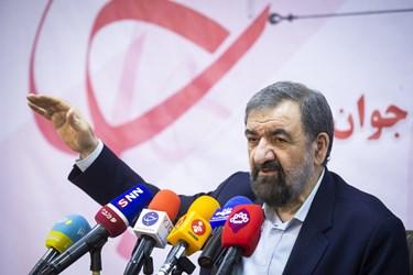 نشست خبری محسن رضایی دبیر مجمع تشخیص مصلحت نظام