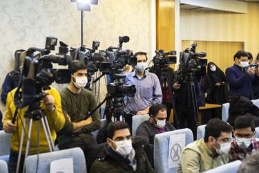 حضور اصحاب رسانه در نشست خبری محسن رضایی دبیر مجمع تشخیص مصلحت نظام