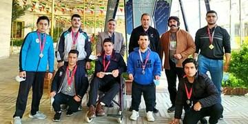 افتخارآفرینی وزنهبرداران جانباز و معلول اردبیل با کسب ۷ مدال کشوری