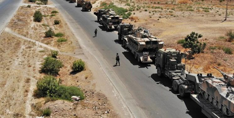 ورود مشکوک یک کاروان نظامی بزرگ آمریکا از بصره به عینالاسد