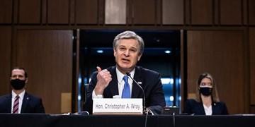 رئیس FBI: حمله به کنگره مصداق تروریسم داخلی بود