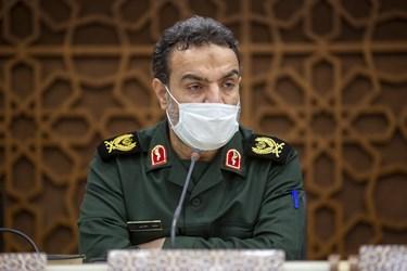 سردار زهرایی رییس سازمان بسیج سازندگی در چهارمین مجمع عمومی جبهه مردمی اقتصاد مقاومتی