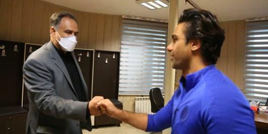وعده فرهاد مجیدی به هواداران استقلال پیرامون اظهارات مددی+عکس