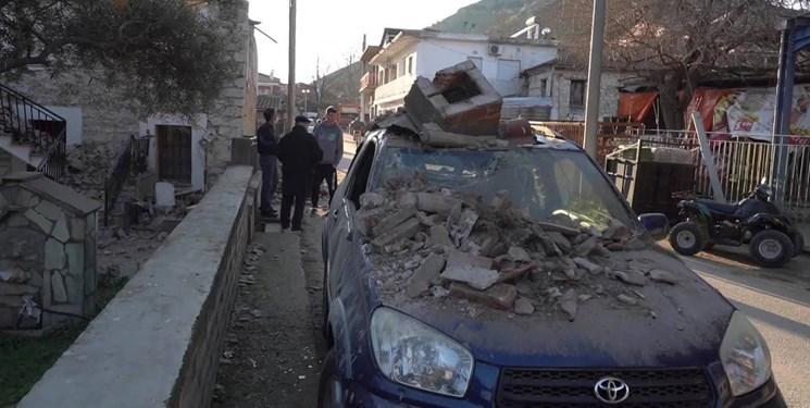 وقوع زمین لرزه نسبتاً شدید در مرکز یونان