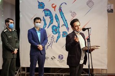 سخنرانی سیدجواد اشرفی دبیر پنج دوره جشنواره ابوذر استان قم