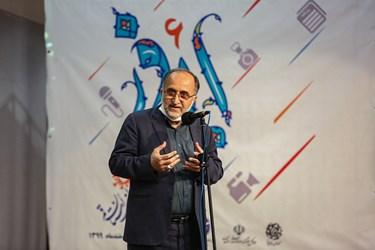 سخنرانی احمد حاجی زاده رئیس کنگره شهدای استان قم