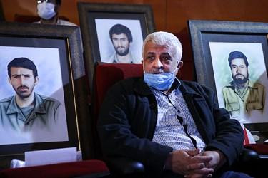 گلعلی بابایی نویسنده ادبیات دفاع مقدس در مراسم یادواره ستارگان دوکوهه