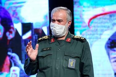 سردار علی فدوی جانشین فرمانده کل سپاه در  مراسم یادواره ستارگان دوکوهه