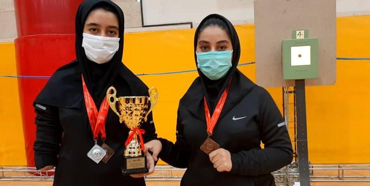 بانوان تیرانداز فارس بر سکوی نایب قهرمانی  مسابقات  کشور