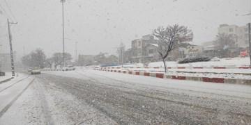 بارش برف و باران استان اردبیل را فرا گرفت/ ۸۰ اکیپ راهداری در جادههای استان مستقر هستند