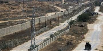 پس از 5 سال؛ ساخت دیوار زیرزمینی صهیونیستها برای محاصره نوار غزه تکمیل شد